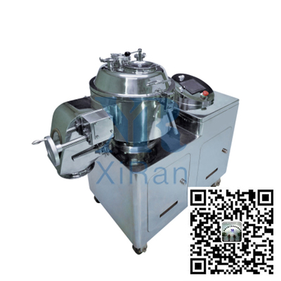 High efficiency mixing granulator
