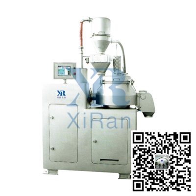 Dry coating mixer